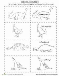 dinosaurs worksheets islcollective 15290 dinosaur matching dinosaur coloring pages matching dinosaur coloring