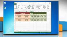 how to merge cells in microsoft 174 excel 2013 worksheet youtube
