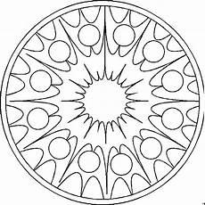 Malvorlage Jahreszeiten Mandala Mandala Sonne Ausmalbild Malvorlage Mandalas