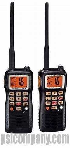 standard horizon hx751 portable vhf radio battery