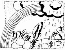 bilder malvorlagen regenbogen