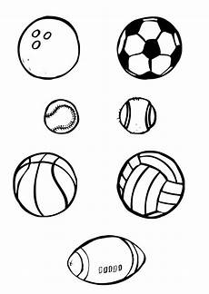 printable coloring pages sports balls 17740 sports balls coloring pages