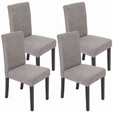 chaises salle à manger lot de 4 chaises de salle 224 manger fauteuil littau