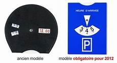 disque de stationnement européen nouveau disque de stationnement europ 233 en obligatoire