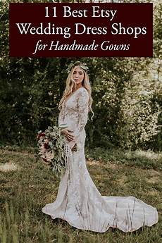 Wedding Gowns Etsy 11 best etsy wedding dress shops for handmade gowns
