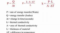 thermal conductivity exle