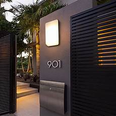 modern villa porch light led wall light outdoor waterproof ip54 modern porch light led indoor