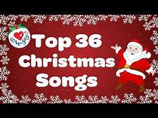 top 36 popular songs and carols playlist