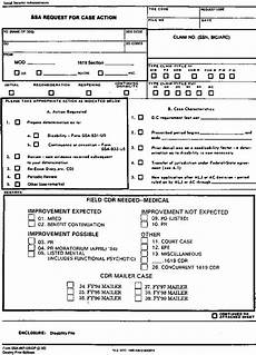 ssa poms di 40505 900 forms used in adjudication of