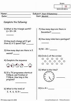 mental maths 9 primaryleap co uk