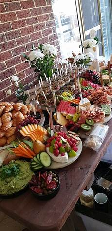 baby shower grazing table par tay party platters
