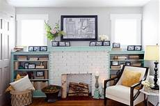 10 ways to refresh your brick fireplace