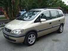 2002 Opel Zafira Pictures 1800cc Gasoline Ff