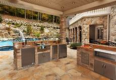 Decorating Ideas For Outdoor Kitchen by 20 Patio Outdoor Designs Decorating Ideas Design