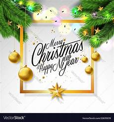 merry christmas white background royalty free vector