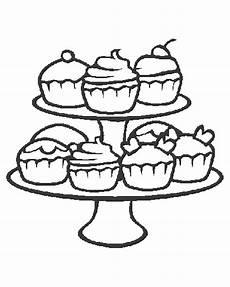 Malvorlagen Cake Kleurplaat Cupcakes 187 Animaatjes Nl