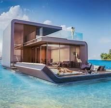 Haus Auf Wasser - floating seahorses luxusvilla mit unterwasseretage welt