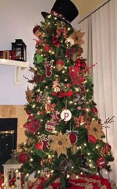 Buffalo Plaid Decorations by Rustic And Buffalo Plaid Tree Tree
