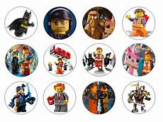 lego movie edible cupcake toppers 12 for sale in dalkey dublin from flour power