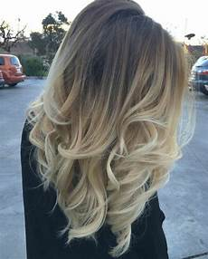 balayage californien blond clair