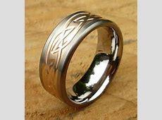 Celtic Inlaid Titanium Ring : LOVE2HAVE in the UK!