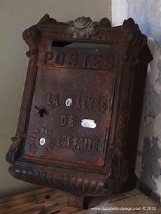 boite a lettres fonte poste delachanal