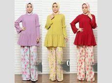 baju kerja wanita muslim modern loana by queenalabels