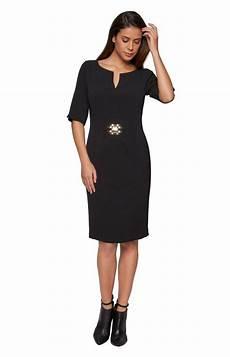 apart elegantes kleid rundhals kaufen otto