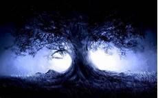Blue Tree Wallpaper