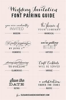 Best Font Combinations For Wedding Invitations wedding invitation font pairing guide