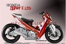 Modif Stiker Supra 125 by Design Honda Supra X 125 Yamaha Vixion Yang Tercecer
