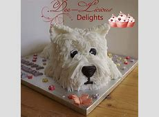 A cute little westie cake   Clever Cakes   Pinterest   Cakes