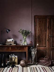 Altrosa Braun Wandfarbe - dusty purple wall color the new neutral purple walls