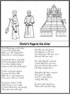 catholic cursive handwriting worksheets free 21705 altar boy prayer poem notebooking set prayer poems poems prayers