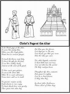 catholic cursive handwriting worksheets free 21705 altar boy prayer poem notebooking set prayer poems poems prayers