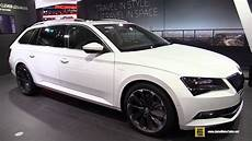 2016 Skoda Superb Combi 2 0 Tsi 4x4 Exterior And