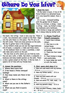 worksheets for places to live 15996 where do you live worksheet free esl printable worksheets made by teachers