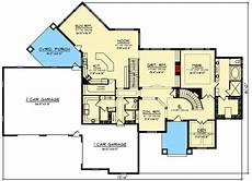 walkout basement house plans with finished basements stone and brick 6 bed luxury house plan with finished