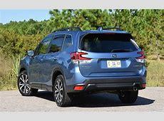 Comparison   Subaru Forester Limited 2020   vs   Honda CR