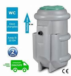 pompe de relevage wc et eaux usées station de relevage eaux us 233 es eaux vannes pour une