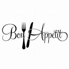 Cpropro 1 Fourchette Couteau Wall Sticker Bon App 233