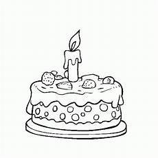 Malvorlagen Cake Birthday Cake Coloring Page Crafts And Worksheets For