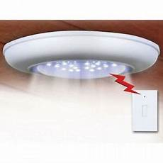 battery operated cordless wireless ceiling wall closet hall light remote control ebay