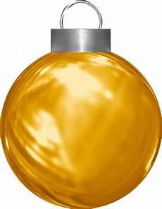 Boule De No 235 L Jaune Png Bola De Navidad Png