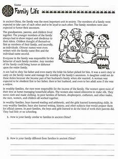 6th grade social studies ancient china worksheets free worksheets free social studies