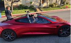 formacar the 2020 tesla roadster on in la