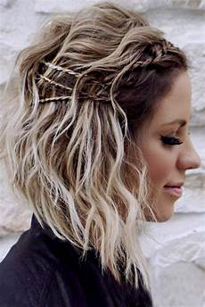 36 cute hairstyles for medium hair casual and prom looks