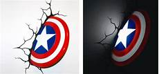 captain america wall light big w captain america will protect your child through the the gadgeteer