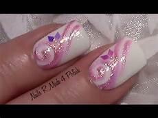 rosa nägel mit glitzer rosa glitter schn 246 rkel nageldesign fingern 228 gel lackieren