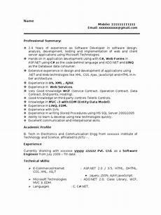 sle resume resume microsoft net 2 years experience microsoft sql server